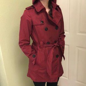 Burgundy Jones New York trench coat